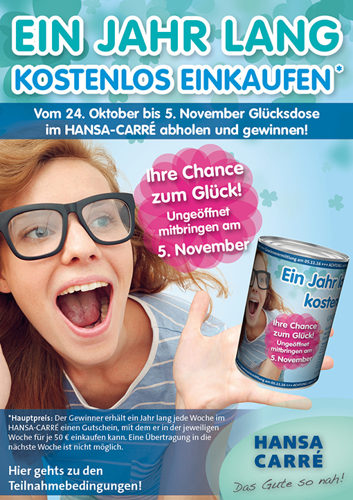 Hansa Caree Plakat 101016